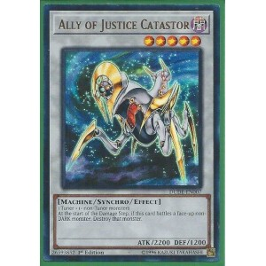 DUDE-EN007	Ally of Justice Catastor - Ultra Rare