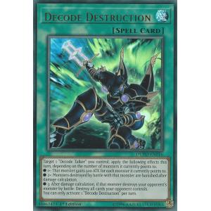 DUPO-EN016 Decode Destruction Ultra Rare