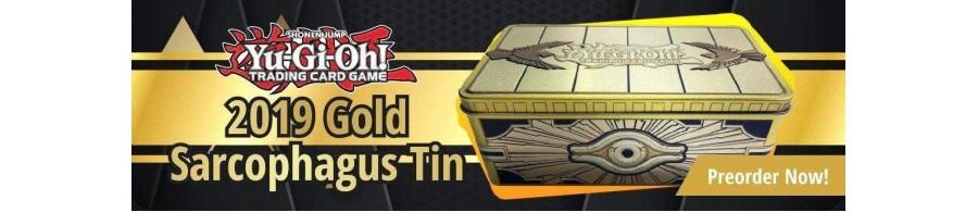 Mega Tin 2019 Gold Sarcophagus