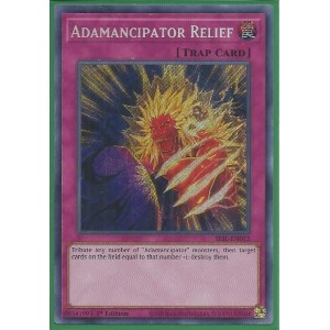 SESL-EN012 Adamancipator Relief – Secret Rare