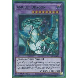 DLCS-EN005G Amulet Dragon – Ultra Rare GREEN