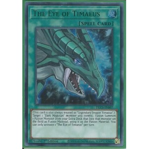 DLCS-EN007G The Eye of Timaeus – Ultra Rare GREEN