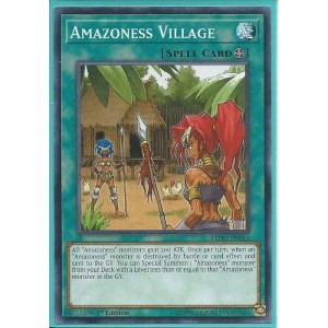 LEDU-EN014 Amazoness Village - Common