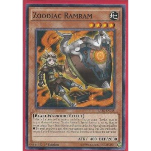 RATE-EN018 Zoodiac Ramram - Common