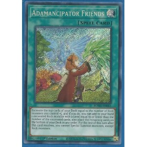 kduy ROTD-EN061 Adamancipator Friends – Secret Rare