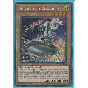 EXFO-EN035 Inspector Boarder – Secret Rare