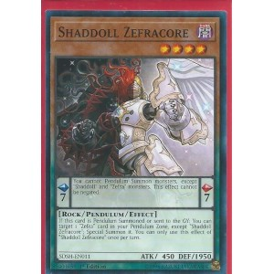 SDSH-EN011 Shaddoll Zefracore – Common