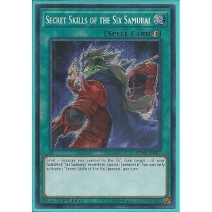 SPWA-EN007 Secret Skills of the Six Samurai – Secret Rare
