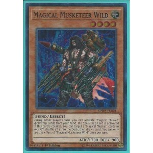 SPWA-EN021 Magical Musketeer Wild – Super Rare