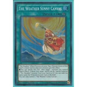 SPWA-EN039 The Weather Sunny Canvas – Super Rare