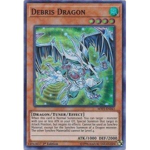 MYFI-EN043 Debris Dragon – Super Rare